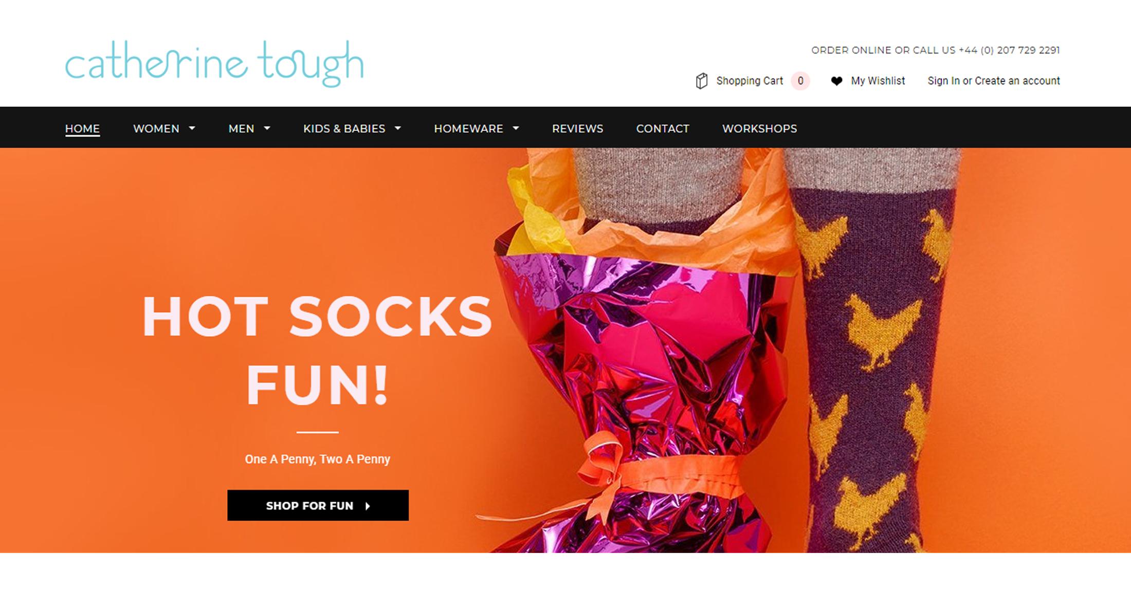 retail fashion ecommerce web designer agency