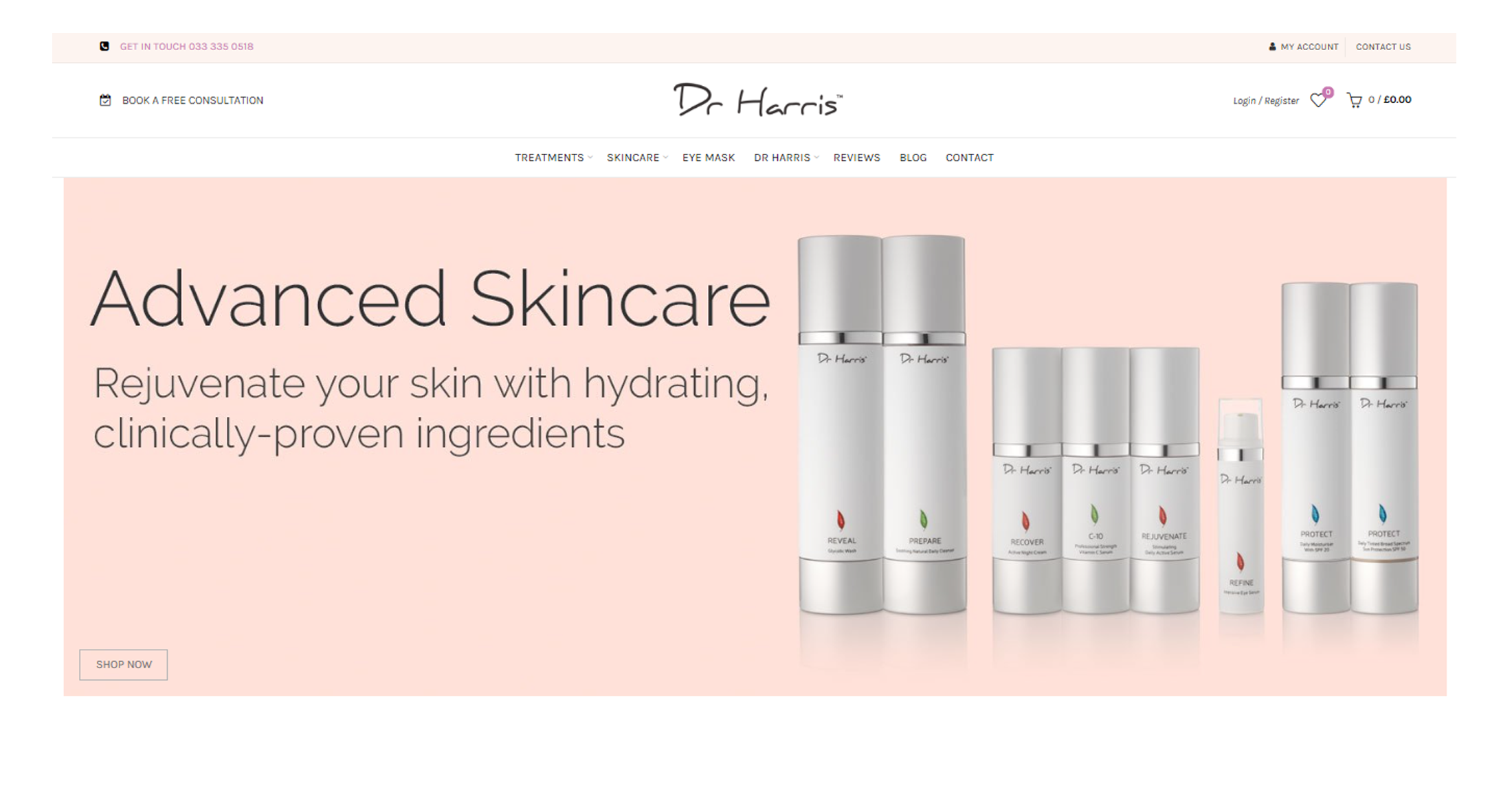 shopify ecommerce web design brighton