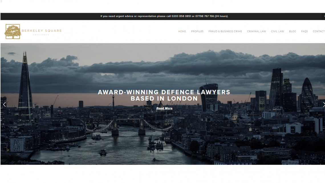 legal website design squarespace