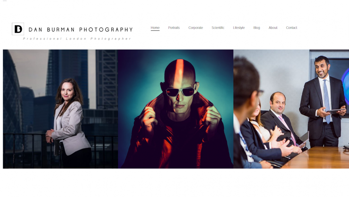 photography web designer